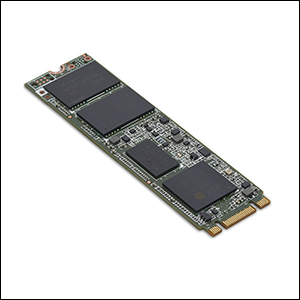 An example of a solid-state drive, courtesy of Intel.