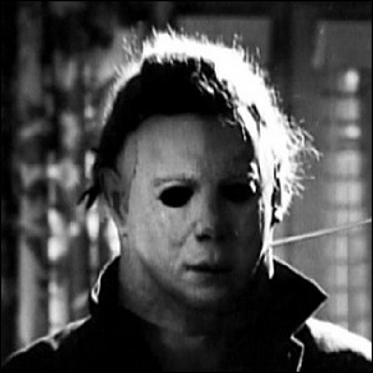 Michael Myers as the antagonist of the movie Halloween.