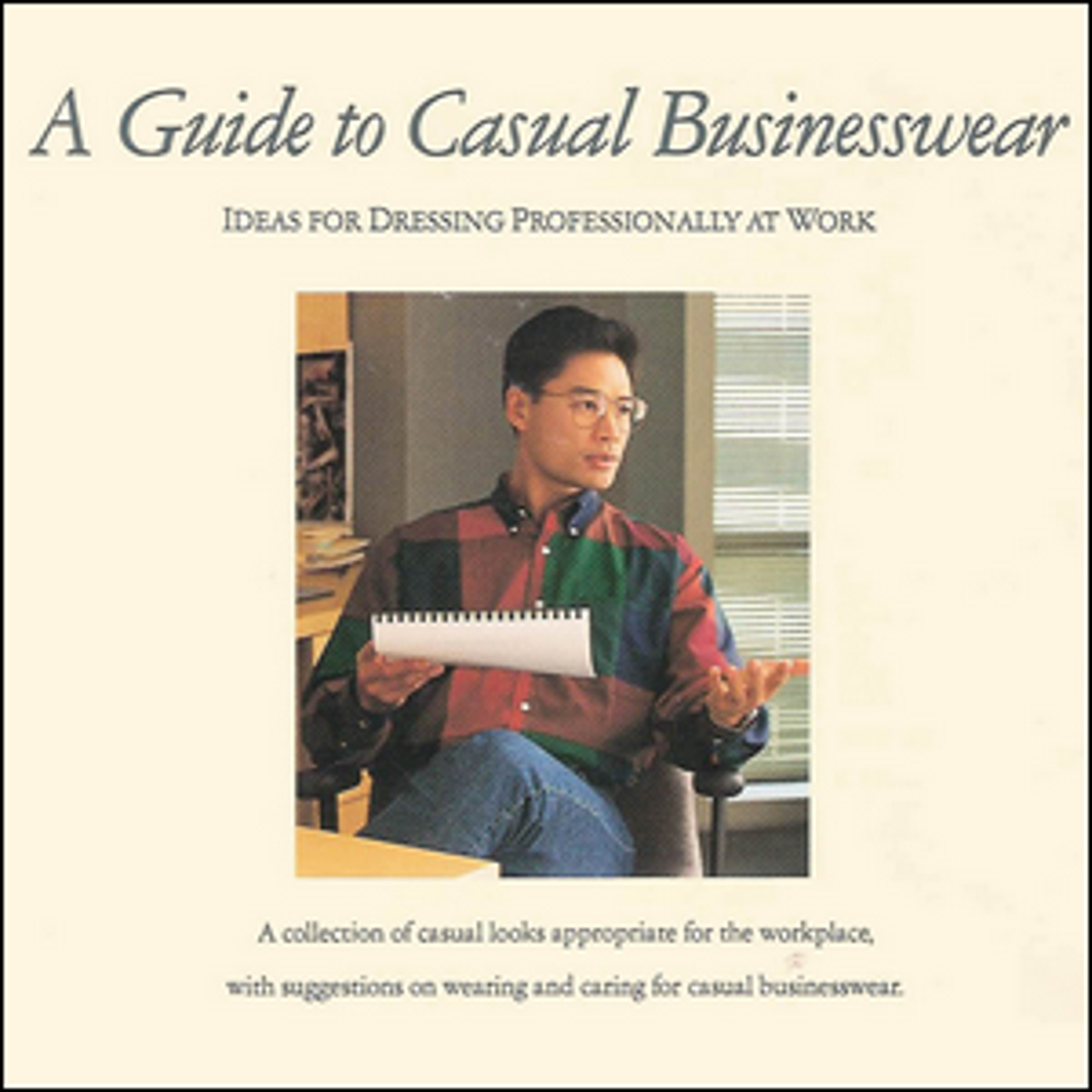 The cover of Levi's 1992 guide to casual office wear.