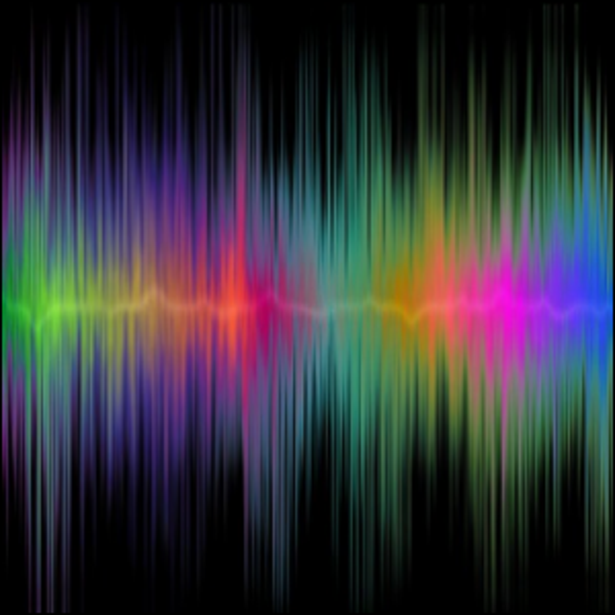 A sample of a sound wave.