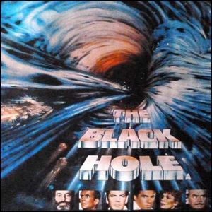A movie poster for the Disney film The Black Hole.