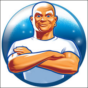 Product logo depicting Mr. Clean.