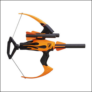 The Blazin' Bow from Nerf.