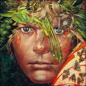 Cover artwork for The Lord of the Flies.