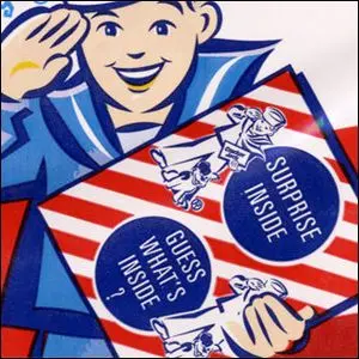 Sailor Jack, one of the mascots for Cracker Jack.