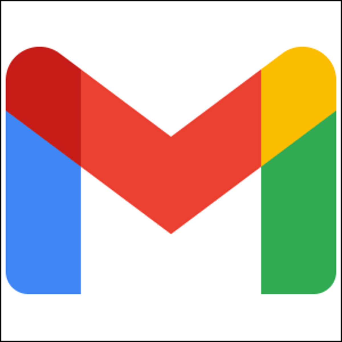 The 2021 logo for Gmail.