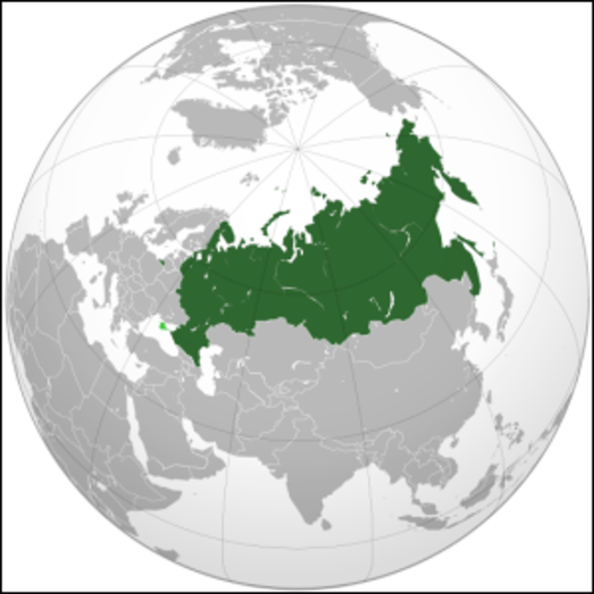 A map of the Russian Federation.