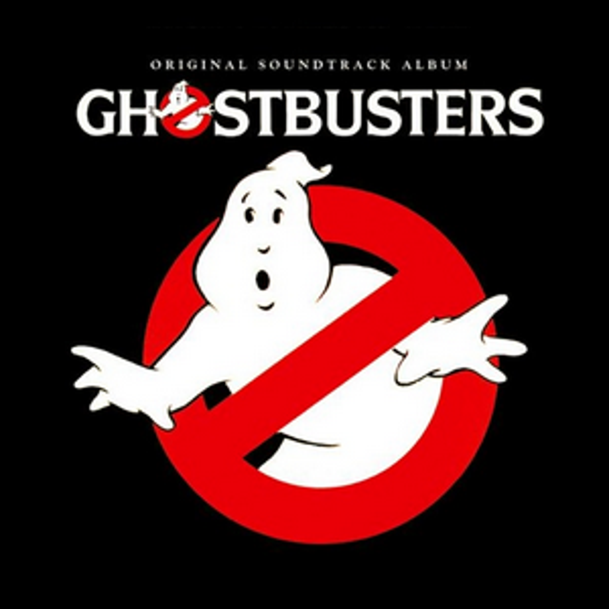 The cover art for the 1984 Ghostbusters movie soundtrack.