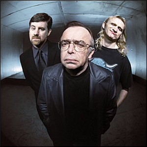 The Lone Gunmen: Byers, Frohike, and Langley.