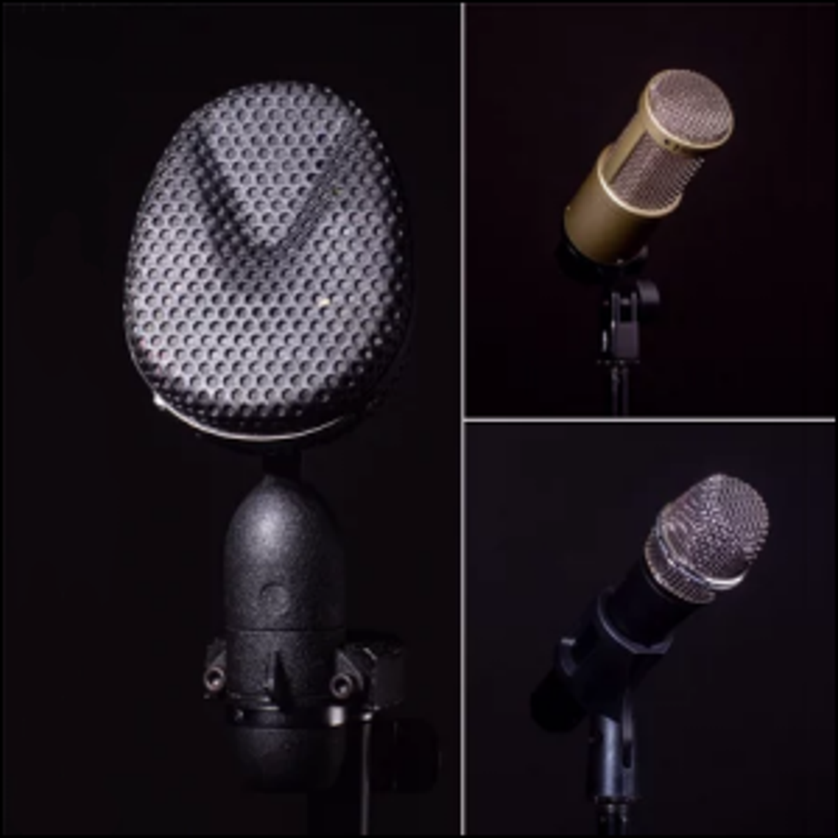 Some of the mics used by NPR (National Public Radio).
