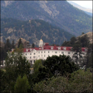 A photo of The Stanley Hotel taken in 2008.
