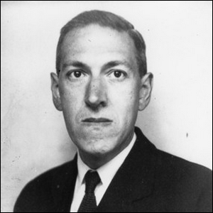 A 1934 portrait of American author H. P. Lovecraft.