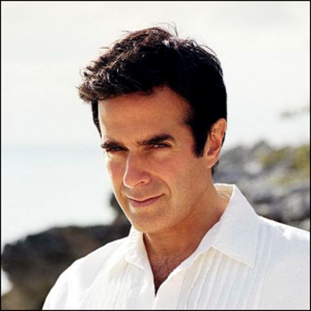 A 2014 photo of David Copperfield taken in the Bahamas.
