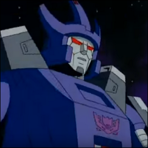 Galvatron in the 1986 Transformers movie.