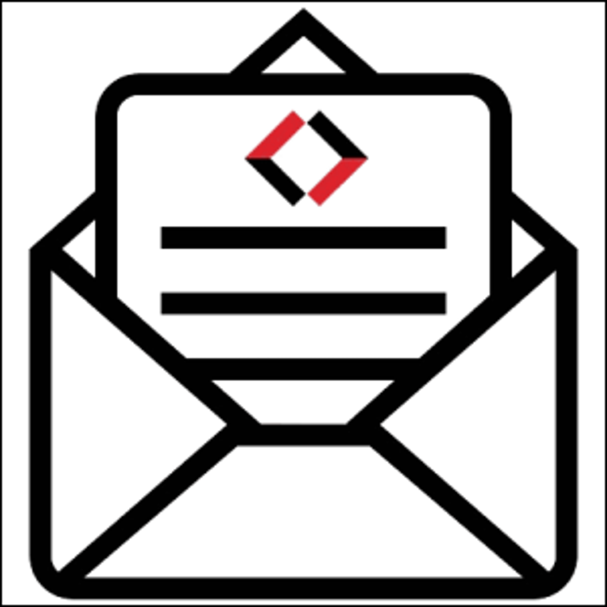 A general and generic email logo.