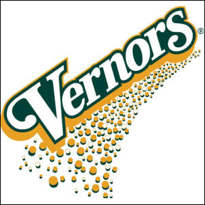 The logo for Vernors Ginger Ale.