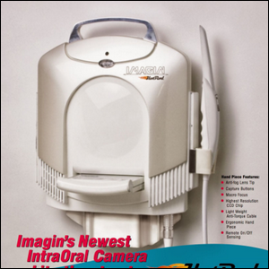An ad for Imagin Systems' Hotrod IntraOral Camera.