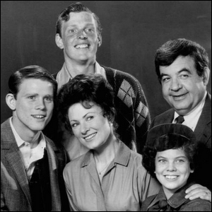 A Cunningham family portrait from Happy Days that has Chuck in it.