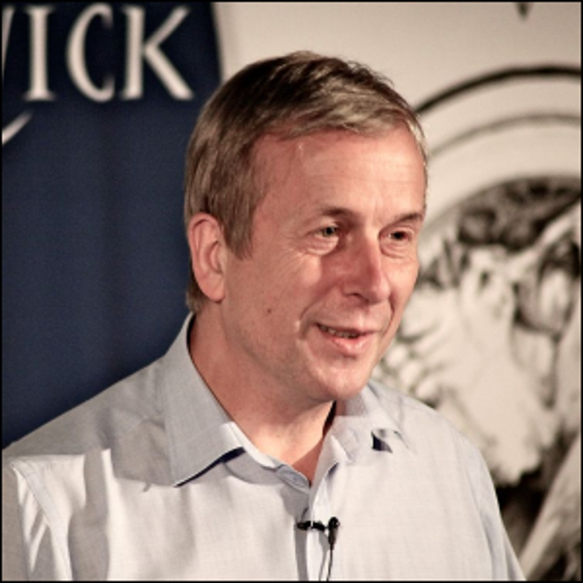 A 2011 photo of Kevin Warwick.