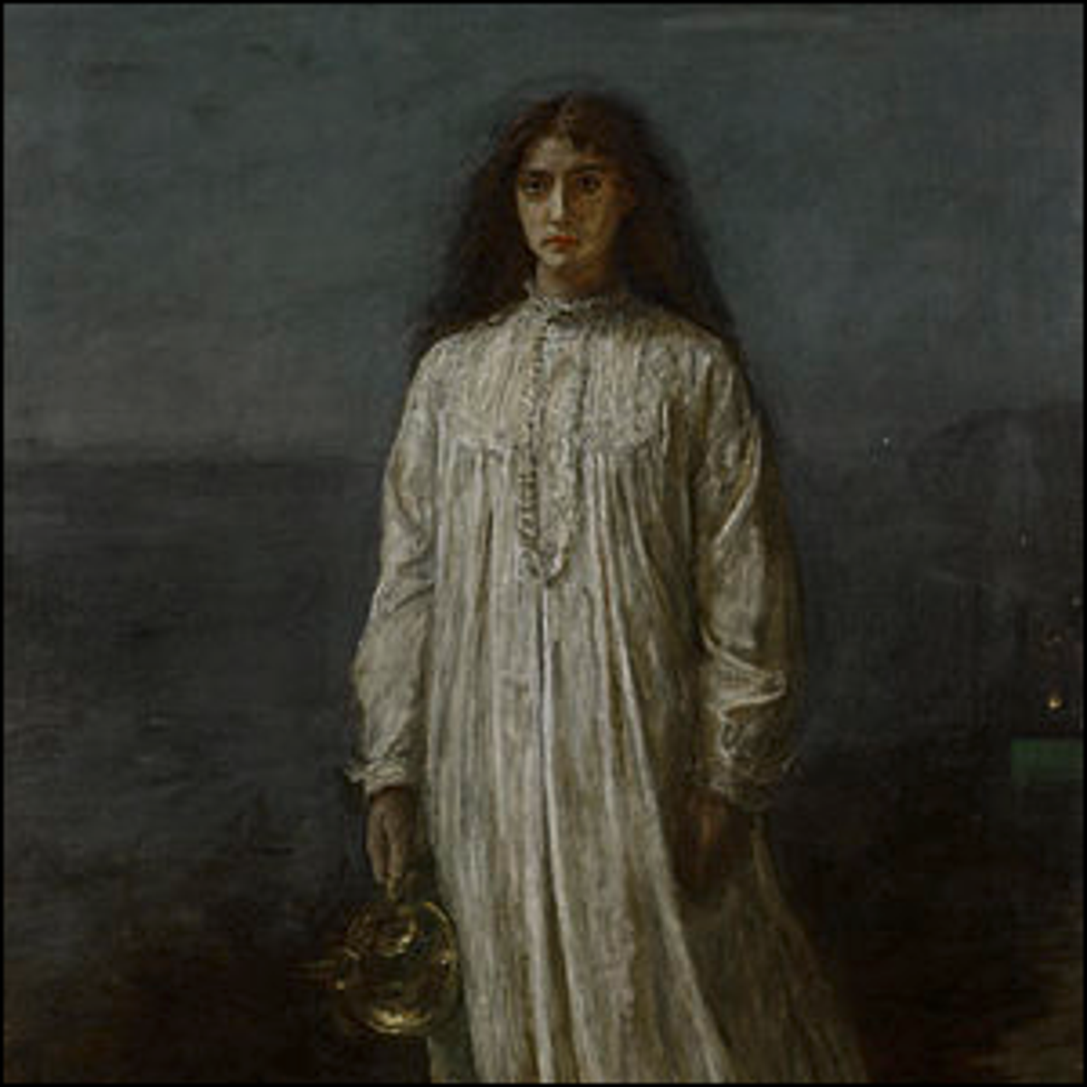 A picture of The Somnambulist, an 1871 painting by John Everett Millais.