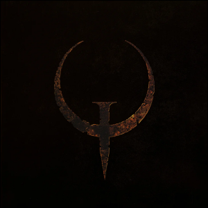 The cover art for the video game Quake.