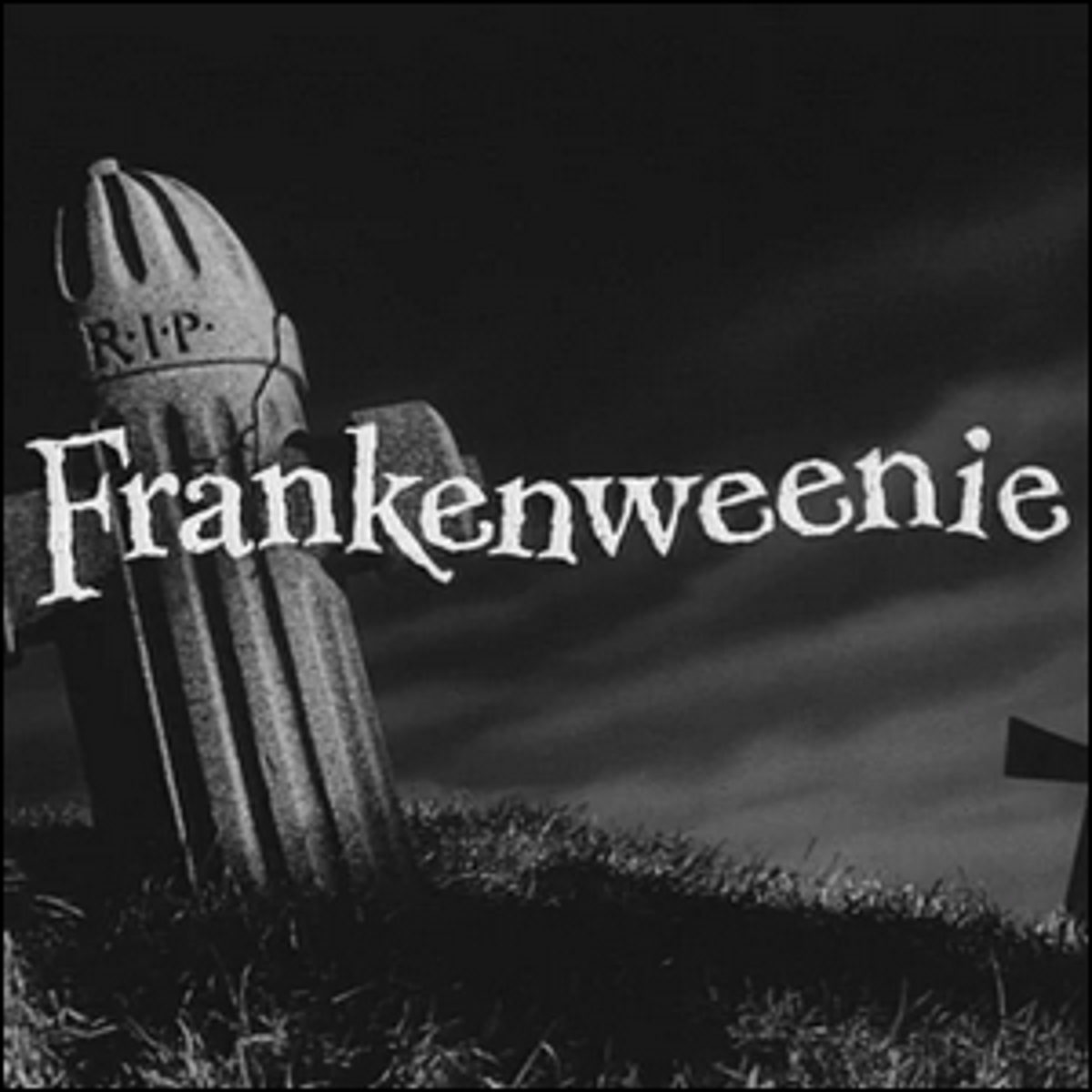 A title screen for the movie Frankenweenie.