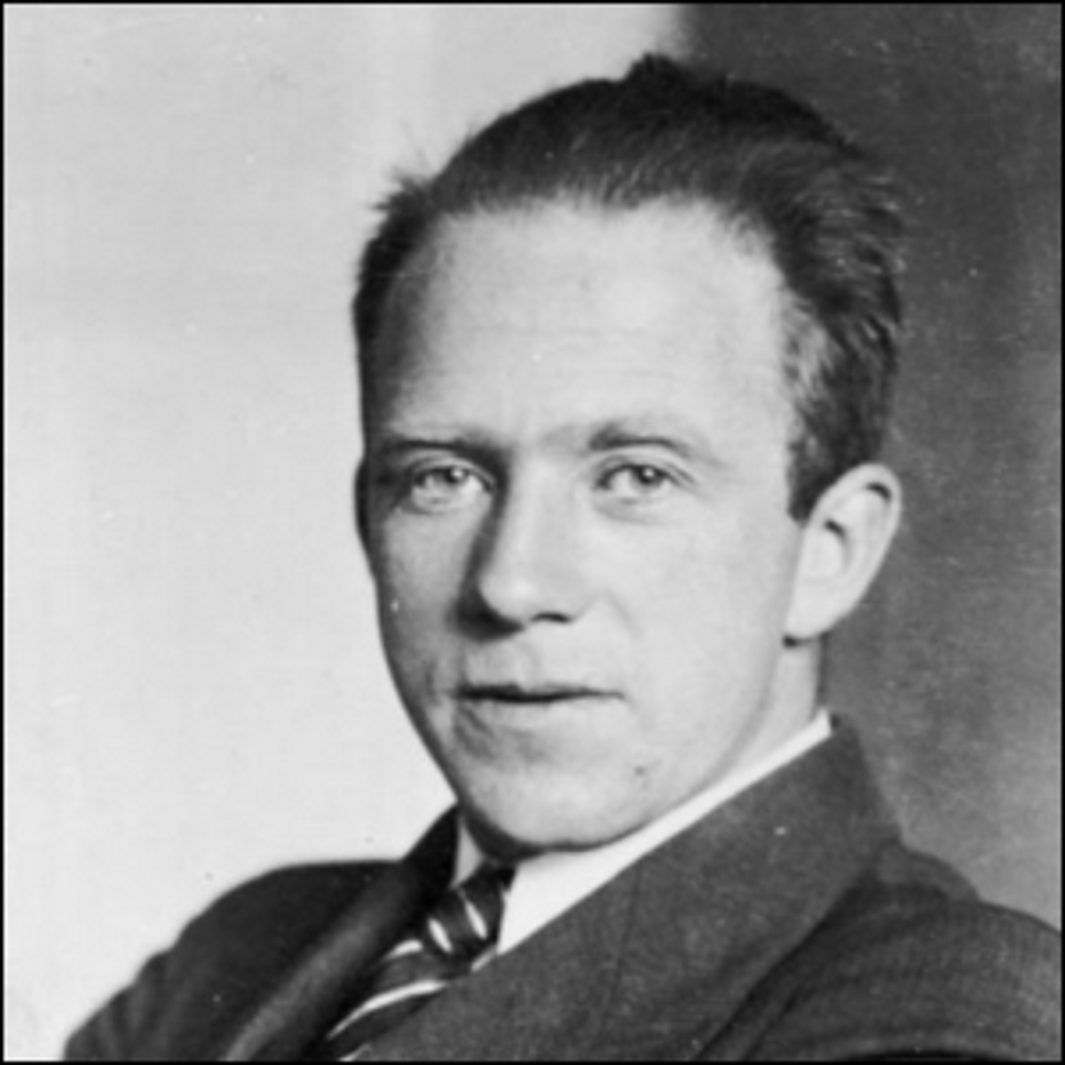 A 1933 photo of theoretical physicist Werner Heisenberg.