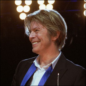 David Bowie performing at Tweeter Center outside Chicago in Tinley Park,IL, USA.