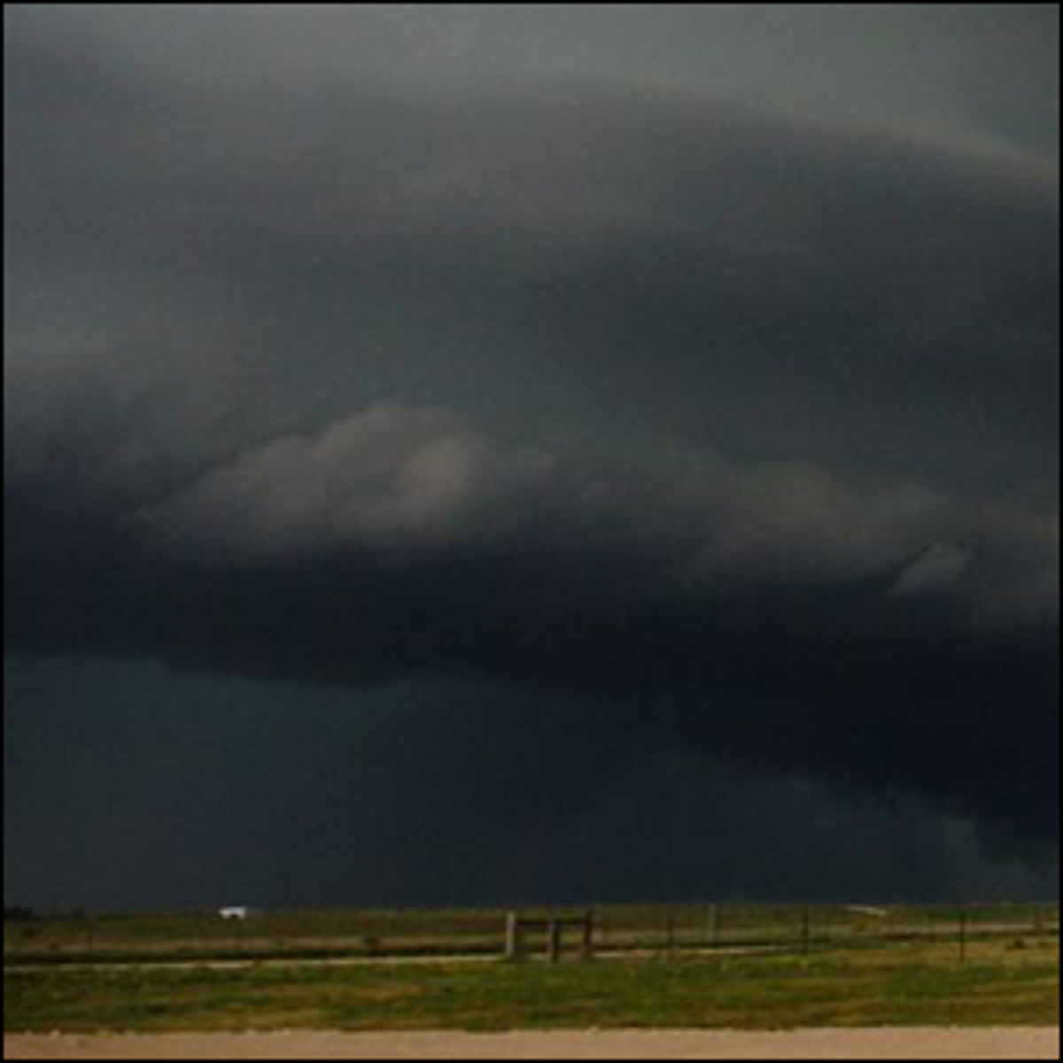 A storm being monitored and studied by VORTEX Southeast researchers.