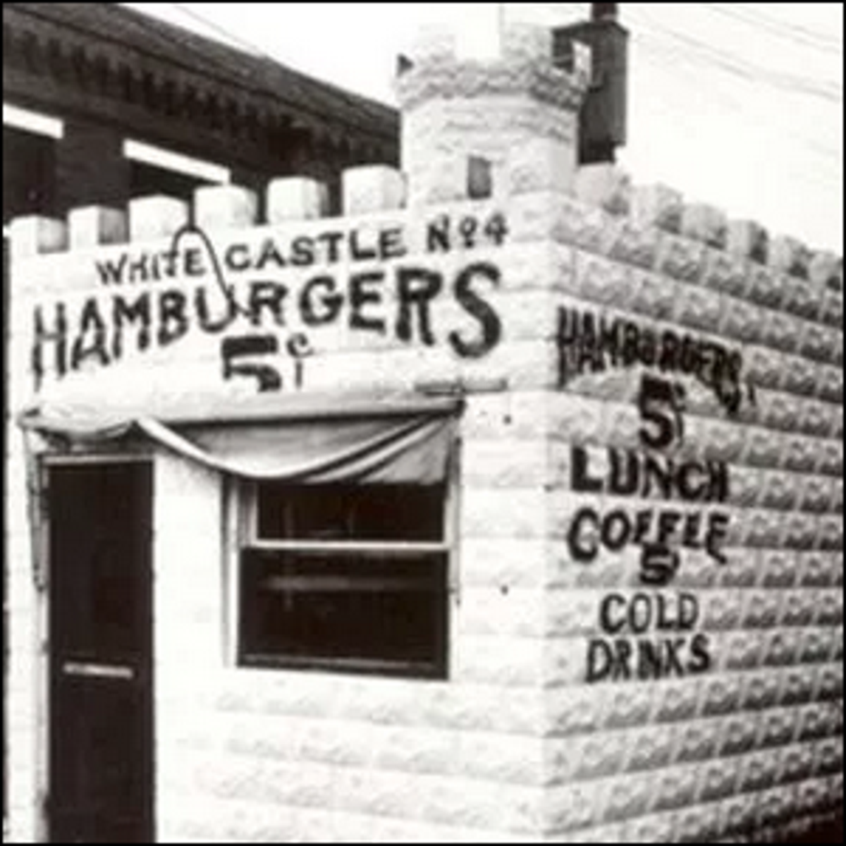 Photo of an early White Castle location.