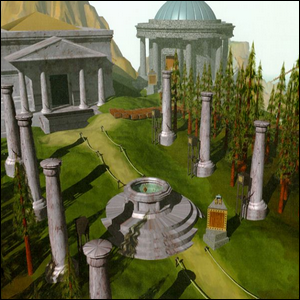 The land of Myst.