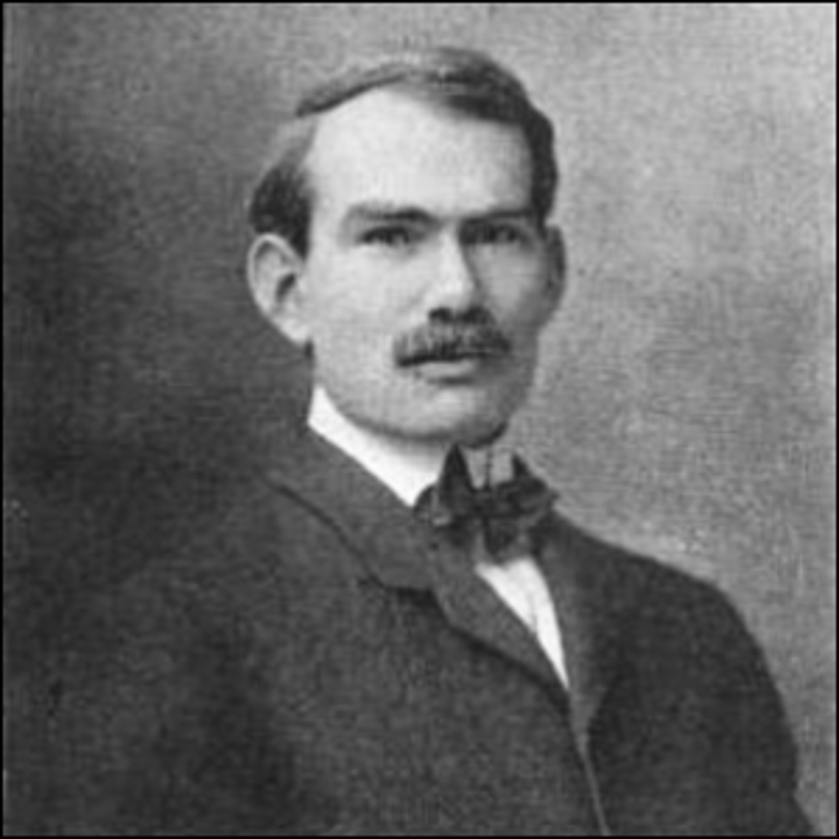 A photo of Lee de Forest, published in the February 1904 issue of The Electrical Age.