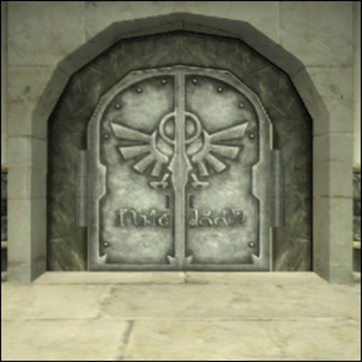 The entrance to the Temple of Time in Twilight Princess.