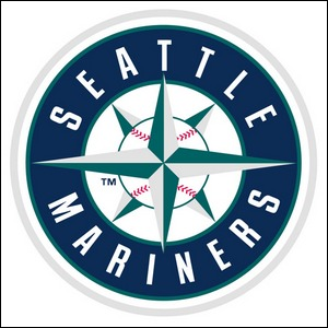 The logo for the Seattle Mariners.