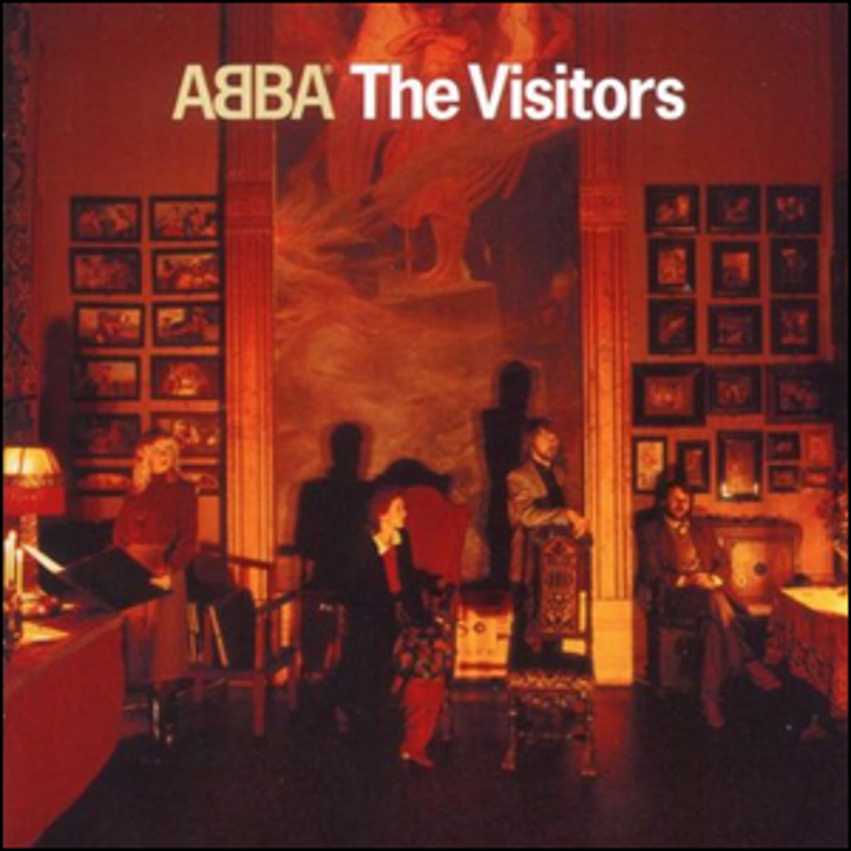 "The cover of ABBA's ""The Visitors"" album."