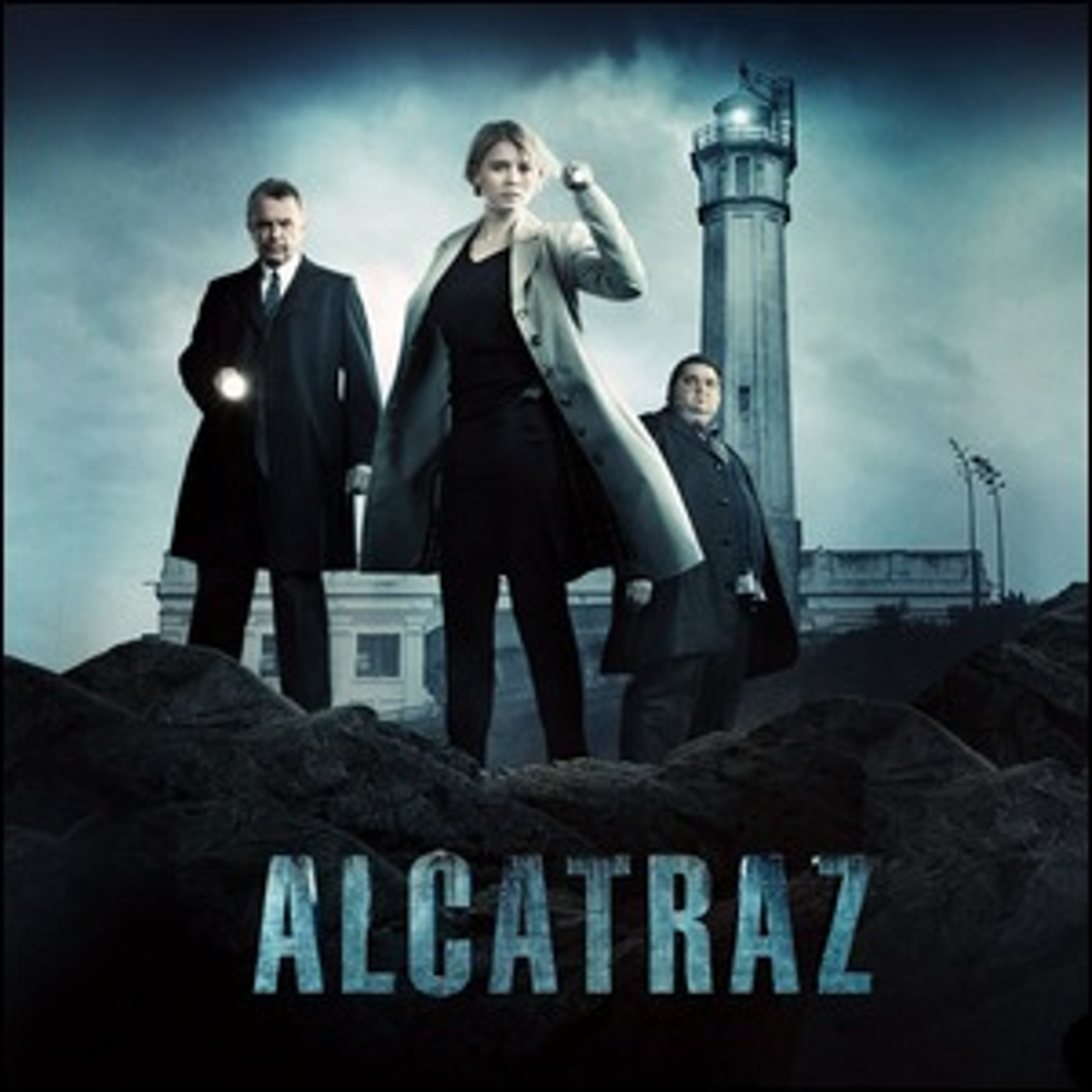 The cover art for the television series Alcatraz.