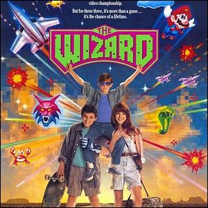 The theatrical release poster for The Wizard.