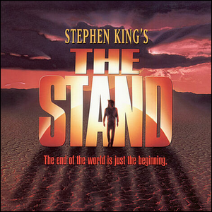 """The front cover of Stephen King's """"The Stand""""."""