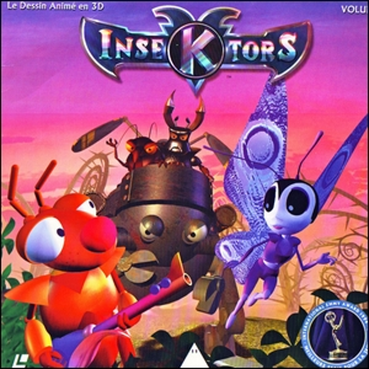 The cover of first volume of Insektors.