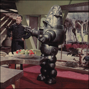 Robby the Robot from the movie Forbidden Planet.
