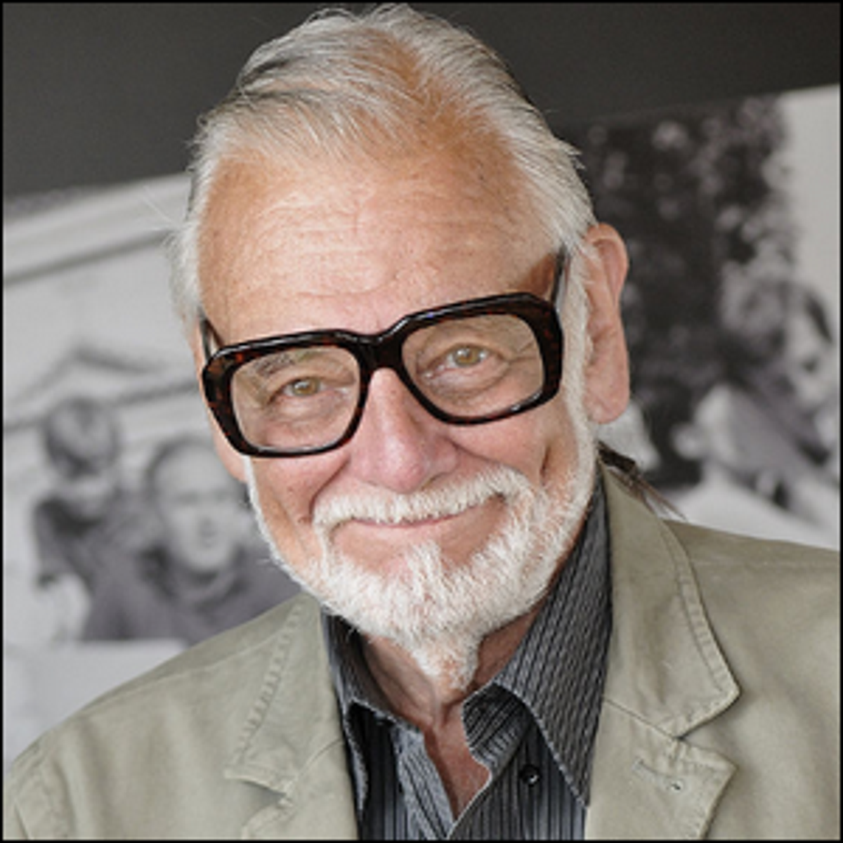 Director George Romero at a French film festival in 2009.