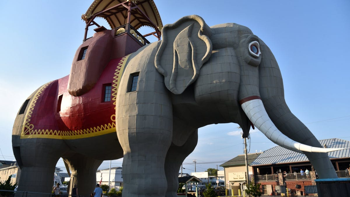 Lucy the Elephant, a New Jersey Tourist Attraction