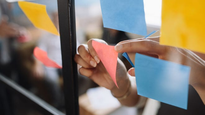 The Science of Post-it Notes