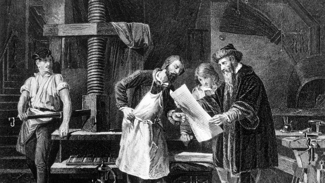What Was the First Book Ever Printed?