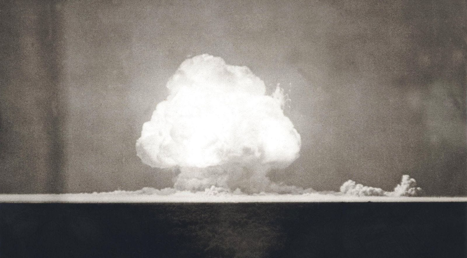First Atomic Explosion on July 16, 1945