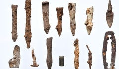 Forest Find: Arrowheads and Crossbow Bolts Point to Overwhelming Victory