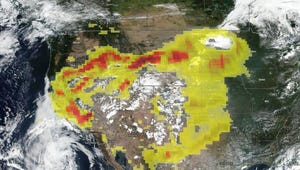 Striking NASA Images Show Extent of California Wildfires