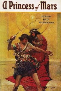 Cover of A Princess of Mars by Edgar Rice Burroughs