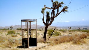 A Brief History of the Mojave Phone Booth