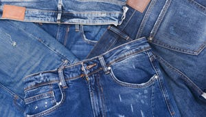 Blue Jeans are Showing up Everywhere